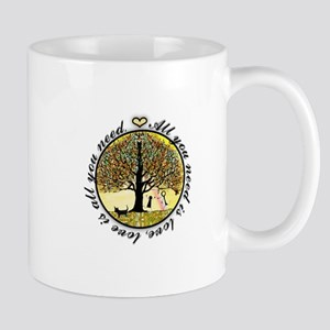 All you need is love tree of life. Mugs
